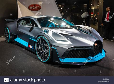 Buyers of ready cars are welcome to book an appointment for viewing the car in question. PARIS - OCT 3, 2018: New 2020 Bugatti Divo extreme hypercar showcased at the Paris Motor Show ...
