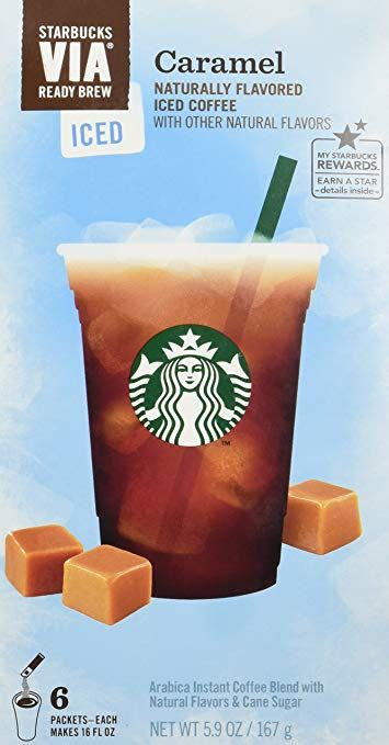 The airtight seal on our ground coffee cans locks in the peak flavor of our signature ground beans for fresh taste every time. Amazon.com : Starbucks VIA Ready Brew Iced Caramel Coffee (3 Pack/Boxes) 6 Packets Each Box ...