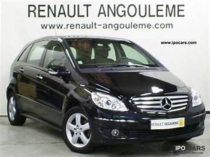 Mercedes Classe B 180 : 2008 mercedes benz class b 160 b 180 cdi design autotronic cvt car photo and specs ~ Gottalentnigeria.com Avis de Voitures