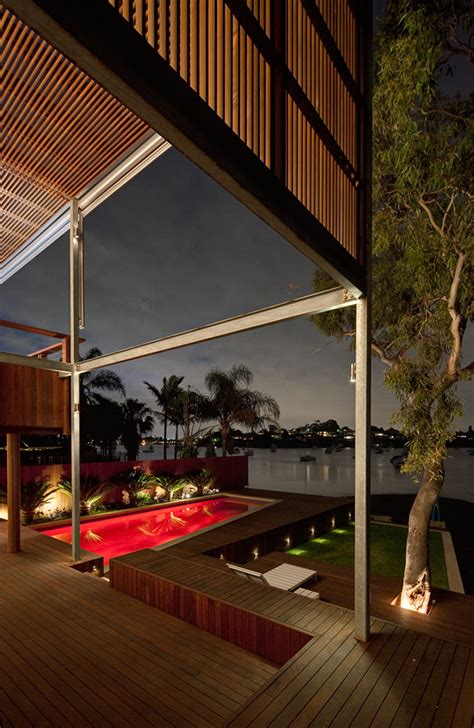 tennyson point residence waterfront homes architecture pergola