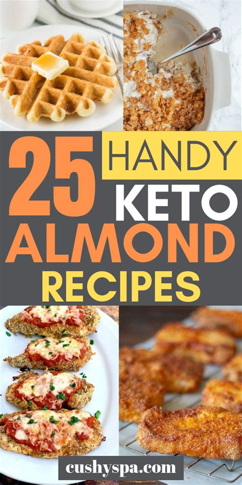 keto almond flour recipes handy diet eating