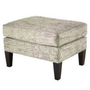 french script ottoman bench look 4 less