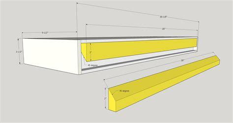 Modern Floating Shelves Mr Buildit
