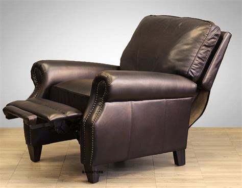distressed leather recliner best distressed leather recliner style sorrentos bistro home