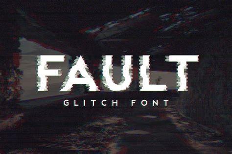 fault glitch font medialoot