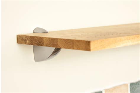 oak shelf brackets wooden kitchen shelves gallery worktop express