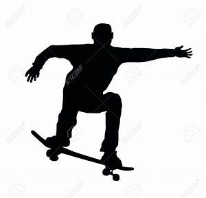 Skateboard Silhouette Png   www.imgkid.com - The Image Kid ...