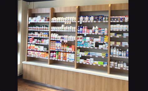pharmacies store fixtures woodworking brampton