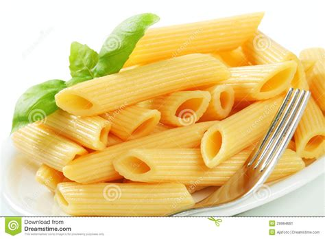 cooked penne pasta stock image image 29984661