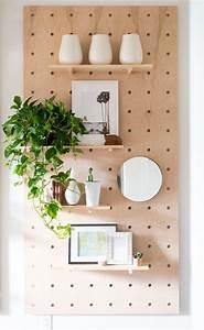 Pegboard Selber Bauen : giant wooden peg board diy diy wohnzimmerschr nke diy ~ Watch28wear.com Haus und Dekorationen