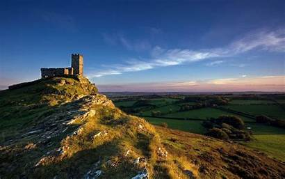 Church Discovery Wallpapers Channel Landscape Nature Brentor