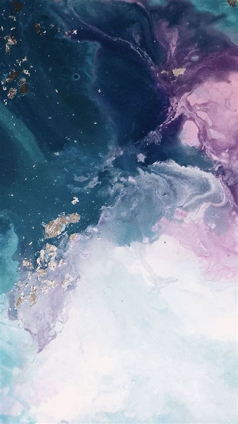 blue pink purple white grey and gold marble aesthetic