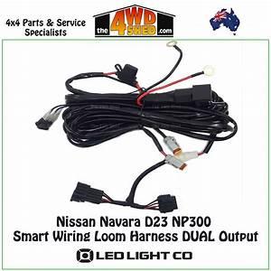 Nissan Navara D23 Np300 Smart Wiring Loom Harness Dual Output