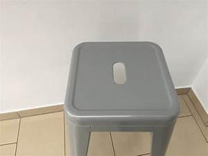 Barstuhl Sitzhöhe 65 Cm : barstuhl metall grau im industriedesign barhocker grau metall sitzh he 61 cm retro ~ Bigdaddyawards.com Haus und Dekorationen