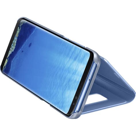 galaxy s8 flip cover samsung s view flip cover for galaxy s8 blue ef zg955clegus