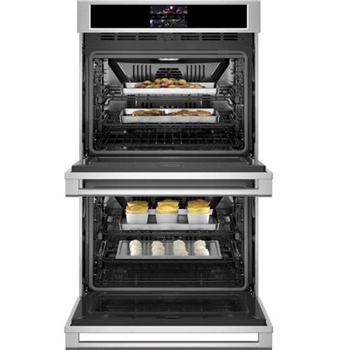 ztdxdpsnss monogram  smart electric convection double wall oven statement collection