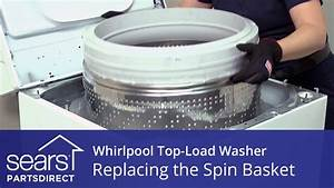 How To Replace The Spin Basket On A Whirlpool Vertical Modular Washer  Vmw