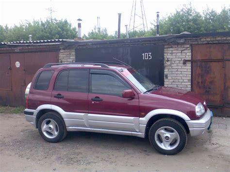 Suzuki Grand Vitara 1999 by 1999 Suzuki Grand Vitara Pictures 2 0l Gasoline Manual