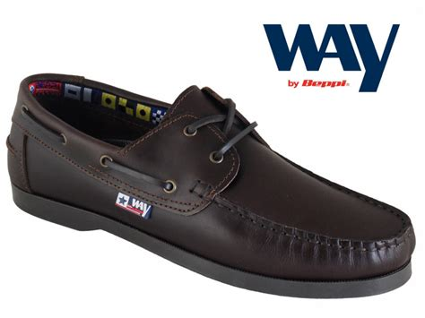 Best Value For Money Boat Shoes by Mens Chestnut Leather Boat Shoe Wide Fit