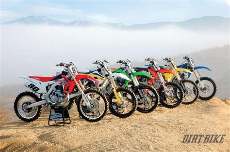 dirt bikes motocross 450 mx shootout how they really rank dirt bike magazine