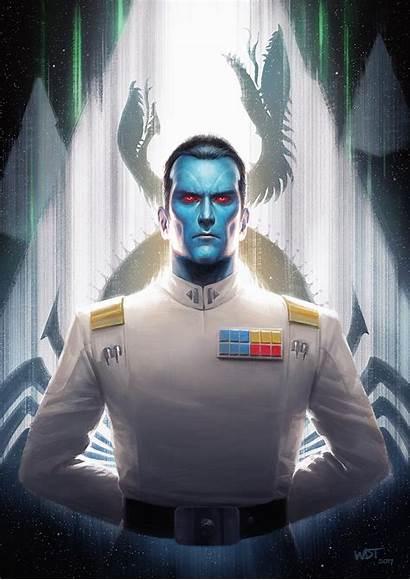 Thrawn Wraithdt Deviantart Admiral Wars Star Grand