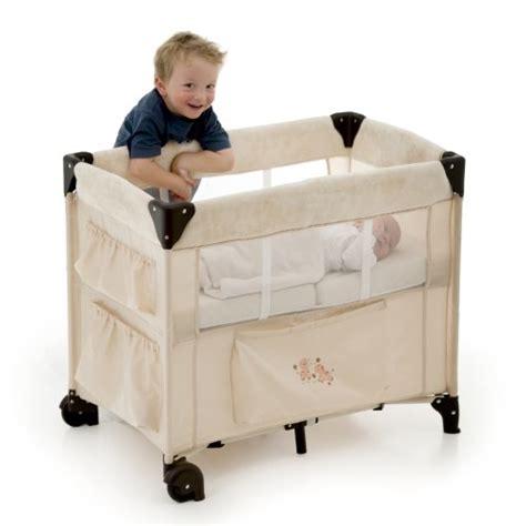 hauck dream  care portable crib beige mattresses