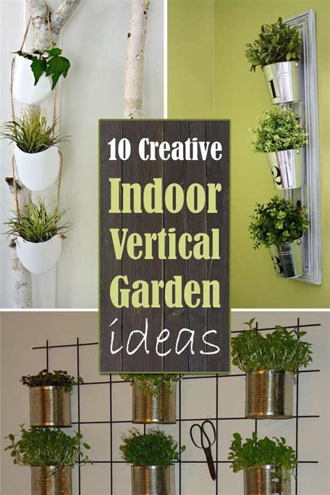10 creative indoor vertical garden ideas