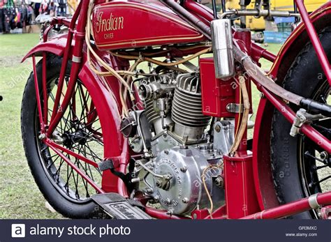 Old Indian Motorcycle Stock Photos & Old Indian Motorcycle
