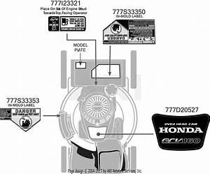 Mtd 12avb2rq719  2016  Parts Diagram For Label Map