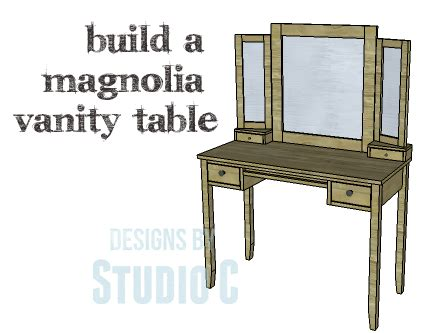 diy vanity table plans a beautiful vanity table perfect in any room designs by