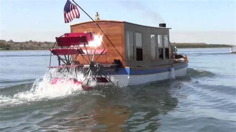 Boat R Wheels by Steam Paddle Wheel Boat Captain Allan Dunlap