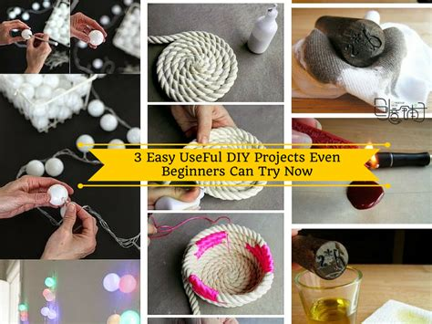 easy  diy projects  beginners