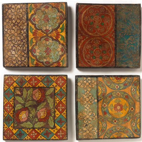 painted terracotta tile collection select