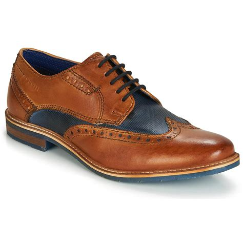 Well dressed yet informal is how bugatti likes to define their brand. Bugatti Leather Troiscinq Men's Casual Shoes In Brown for Men - Lyst