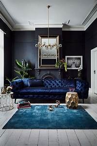 44, Cozy, And, Luxury, Blue, Living, Room, Ideas
