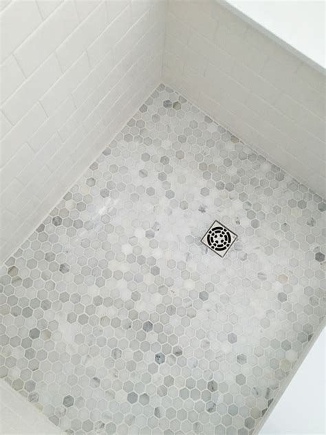 "Bianco Carrara 1"" Hexagons   Tile Stone Source"