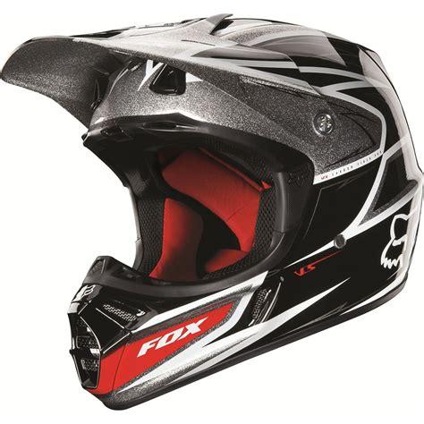 clearance motocross helmets clearance fox v3 race black silver helmet 2013 online