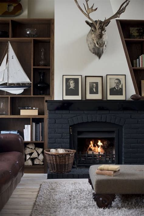 masculine and moody rooms get the look the inspired room