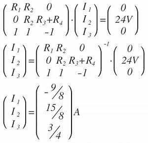 Stromkreis Berechnen : drei stromst rken berechnen im lgs l 0 l1 r1 l2 ~ Themetempest.com Abrechnung
