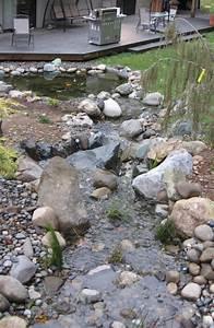 Kleiner Bachlauf Garten : teich mit bachlauf im garten anlegen tipps und ideen ~ Michelbontemps.com Haus und Dekorationen