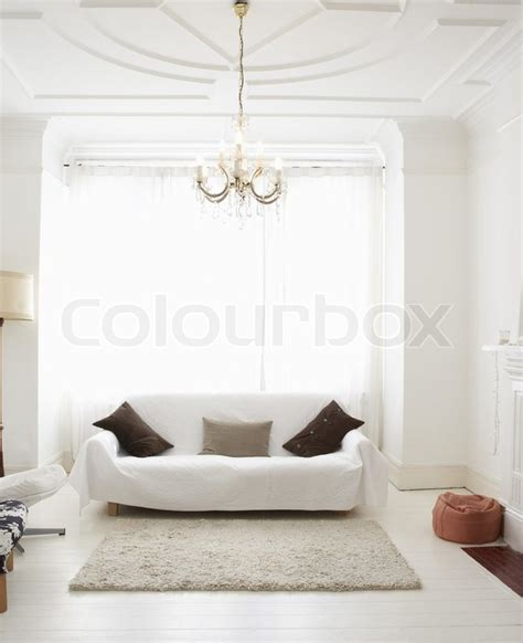 Living Room Empty Background by Empty Living Room Can Be Used As Background Stock Photo