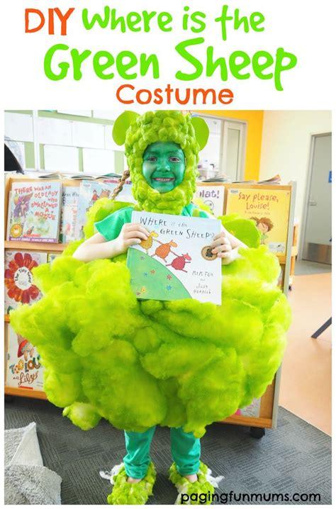 diy    green sheep costume sheep costumes