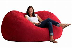 large floor pillows are perfect for dorm rooms With big comfy bean bag chairs