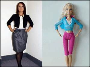 BBC NEWS | UK | Magazine | What would a real life Barbie ...