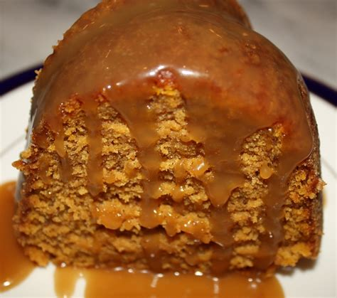pumpkin bundt cake  caramel sauce desserts required