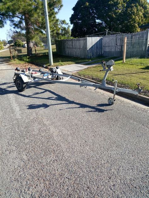 Boats For Sale Deception Bay by 5 4m Heavy Duty Gal Boat Trailer For Tinny Dinghy Or Boat