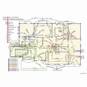 plan electrique et schema electrique d39une maison avec With plan electrique d une maison