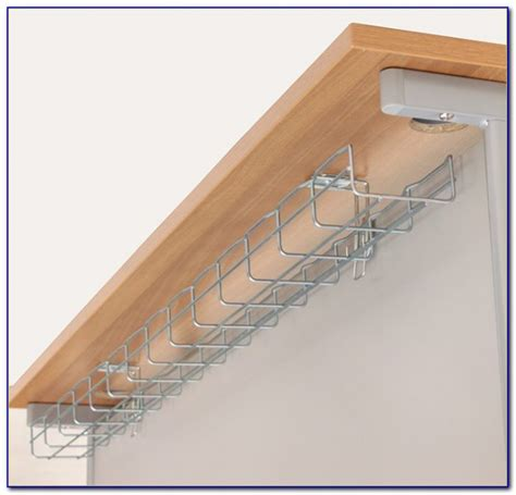 cable holder under desk under desk cable tidy solutions desk home design ideas