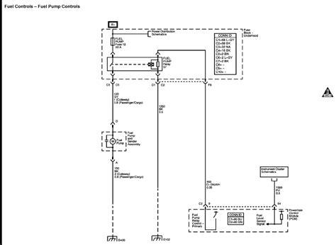 Need The Chevy Silverado Fuel Pump Wiring Diagram