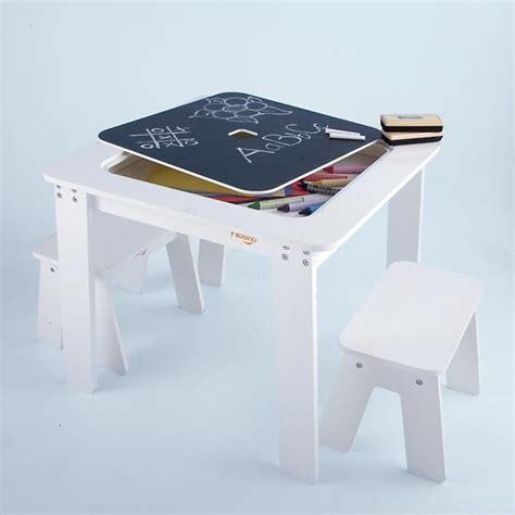 play desk for kids reversible white chalkboard modern kids